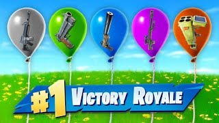 The *RANDOM* Balloon Challenge In Fortnite!