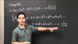 Integration Of Taylor's Series   MIT 18.01SC Single Variable Calculus, Fall 2010