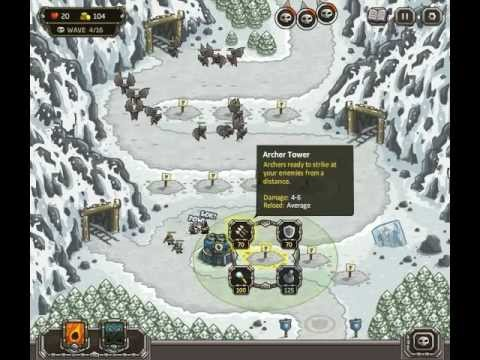 Kingdom Rush - Level 7 (Campaign) - Coldstep Mines