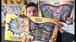Opening A Eevee & Jolteon Special Collection GX Box!!! by Unlisted Leaf
