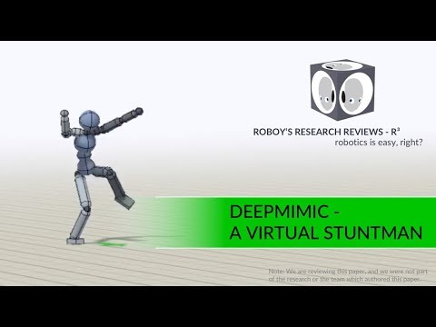 DeepMimic - A Virtual Stuntman | R3 Roboy's Research Reviews #2