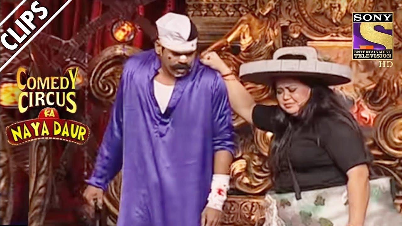 Bharti Consoles Siddharth Jadhav | Comedy Circus Ka Naya Daur