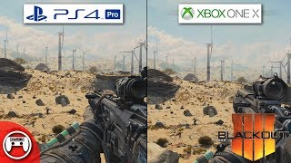 Black Ops 4 Blackout PS4 Pro vs. Xbox One X Graphics Comparison