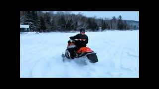 6. Arctic Cat F1000 - MBRP lake test