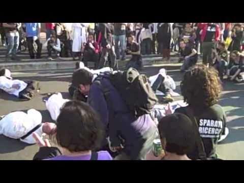 Manifestazione Precariato Roma