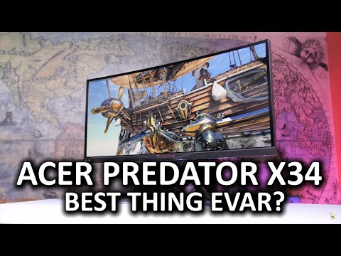Acer Predator X34 Gaming Monitor - Awesome Stuff Week 2015