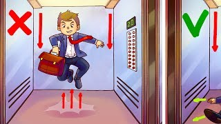 Video The Only Way to Survive in a Free Falling Elevator MP3, 3GP, MP4, WEBM, AVI, FLV Oktober 2017