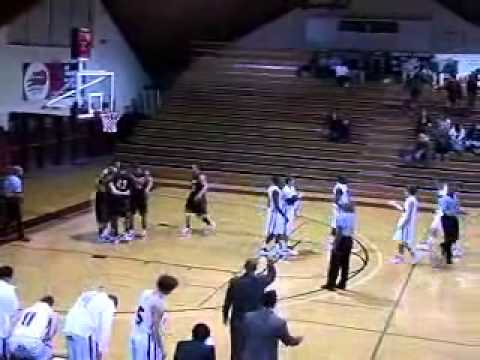 Guilford Men's Basketball vs. Emory & Henry 1/5/11 Highlights
