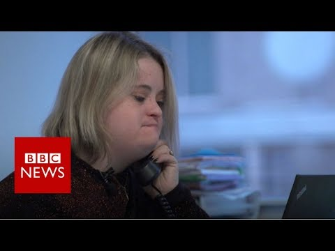 Veure vídeo The first Washington lobbyist with Down syndrome - BBC News