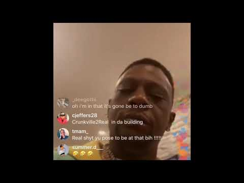 Boosie Says He Gonna Buy Joe Burrow A Gold Chain On Instagram Live