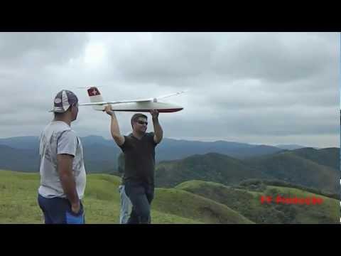 Planador Pilatus SB4 em Pirapora do Bom Jesus -28/01/2012