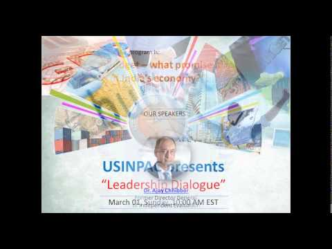 USINPAC Diasporas Leadership Dialogues- March 01 2015