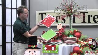 How To Decorate A Christmas Party Table - Trees N Trends - Unique Home Decor