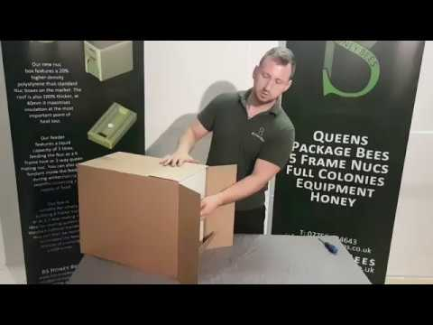 A brief video showing how to unpack your 2 in 1 Poly Nuc Box