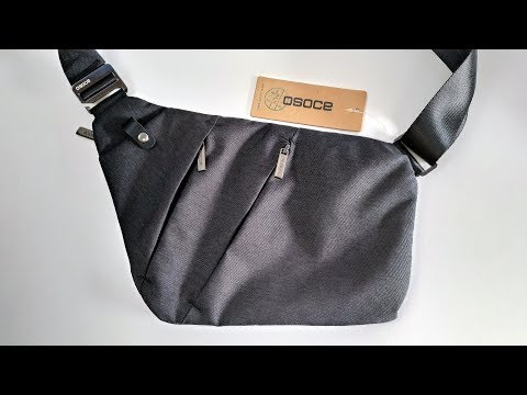 The BEST Ultra Slim Anti-Theft Sling Bag For Your Gadgets And Travelling