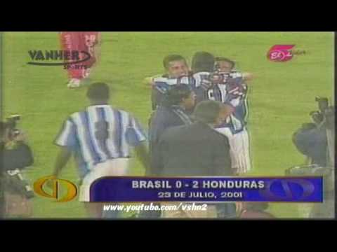 Honduras 2 - 0 Brasil, Copa América 2001