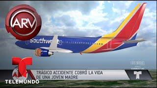 Revelan identidad de quien murió en accidente de avión | Al Rojo Vivo