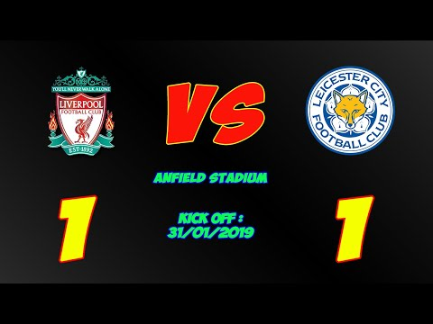Liverpool vs Leicester City 1-1 Full Highlights & All Goals 2019 - Premier League