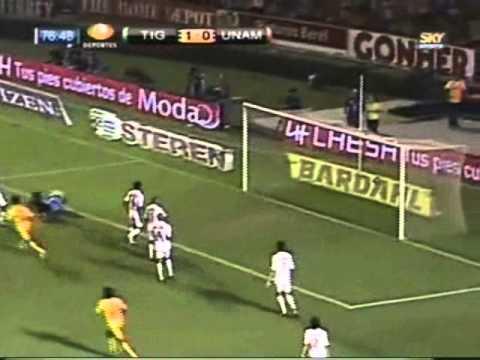 Los goles de Damián Álvarez en los Tigres de la UANL.