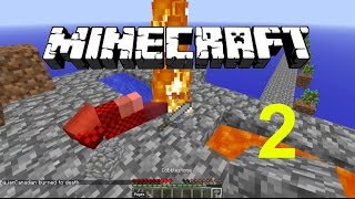 """Minecraft Skyblock SMP #2 """"Building a Home and Mob Spawner"""" w/ JeromeASF"""
