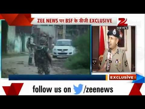 media - Director General of BSF D K Pathak talked exclusively to Zee Media on Pakistan cross-border firing.