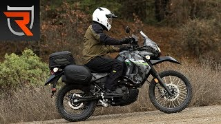 3. 2016 Kawasaki KLR650 Motorcycle First Test Review Video | Riders Domain