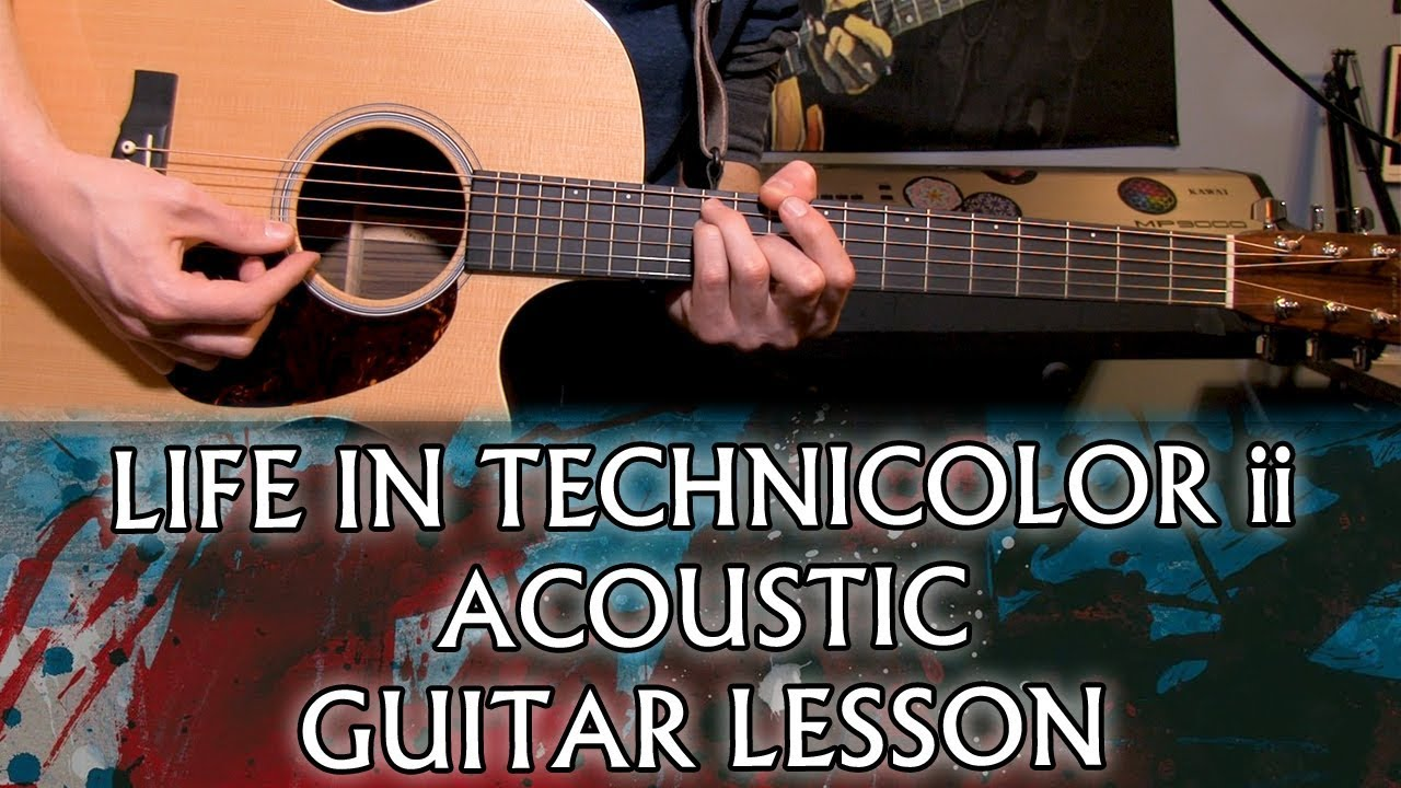 How to play Coldplay – Life In Technicolor ii on acoustic guitar (Chris' Chords)