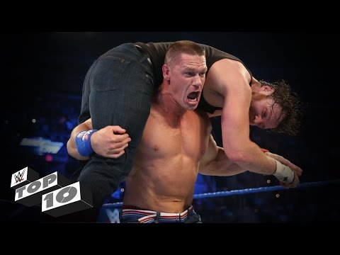 Rapid-Fire Finishing Moves - WWE Top 10, Oct. 10, 2016
