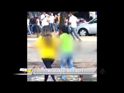GOIÂNIA | Veja a reportagem e assista aos vídeos amadores sobre a tentativa de assalto a carro forte na Av. T-9