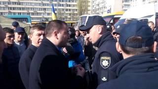 Бориспільський депутат Ярослав Годунок грубить поліцейському