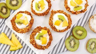 Make-Ahead Granola Cups | EASY Go-To Breakfast Recipes by The Domestic Geek