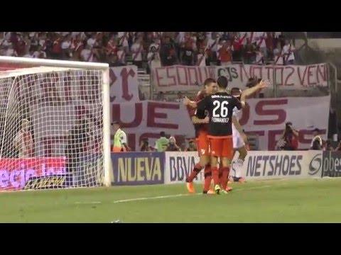 El gol de Lucas Alario a Quilmes