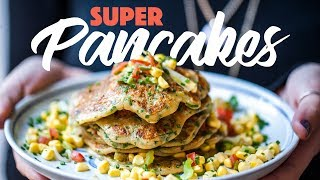 Can You Make Super Tasty Pancakes Using Sweet Potatoes?! #spon by SORTEDfood