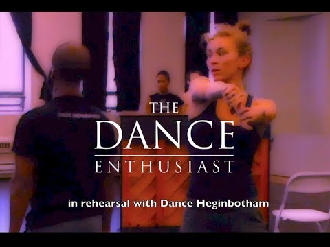 A Dance Enthusiast Minute: Dance Up Close - A Minute of Wacky Waltz with Dance Heginbotham