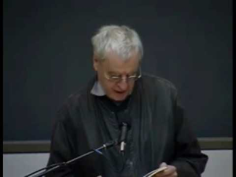 Charles Simic, 2007 Poet Laureate