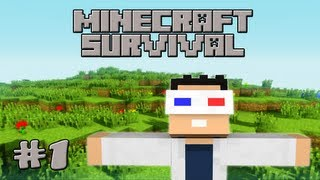 Minecraft Survival: Episode 1 - Perfect Start! (Let's Play)