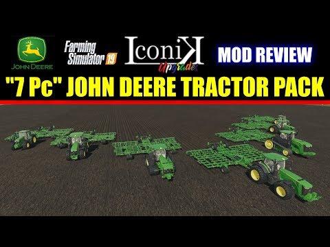 Iconik JD Tractors v1.0