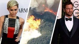 Video Miley Cyrus and More Stars Lose Their Homes in California Wildfires MP3, 3GP, MP4, WEBM, AVI, FLV November 2018