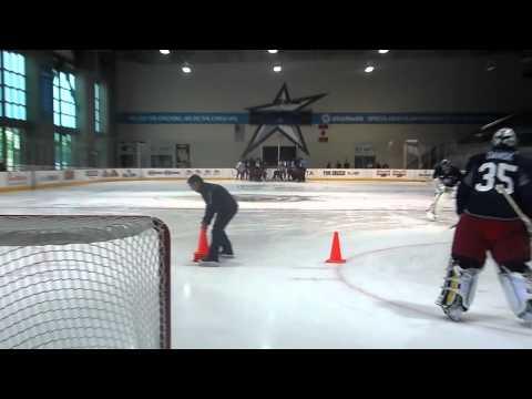 Marianne Watkins Skating Instruction Columbus Blue Jackets Development Camp