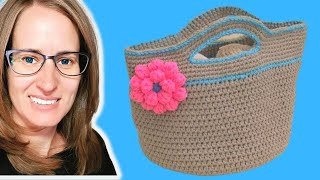 Crochet Basket Stash - Buster Part 1 of 2