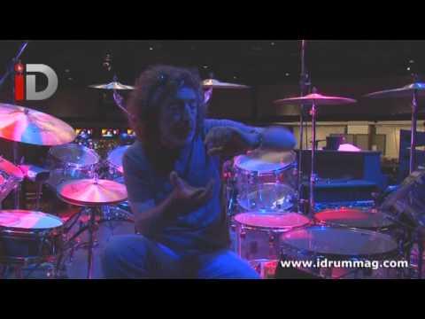 On Stage With Simon Phillips - Tama Mirage Drum Kit Tour   iDrum Magazine