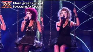 Little Mix are alien on Halloween Week - The X Factor 2011 Live Show 4 mp4