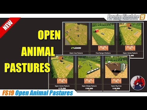 Placeable Open Horse pasture v1.0