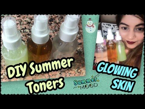DIY Natural Summer Toners for Glowing Refreshed Skin   Get Rid of Large/Open pores   JSuper Kaur