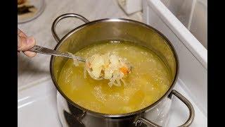 Щи из квашеной капусты, рецепт с картофелем и перловкой