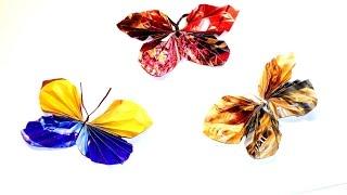 Бабочки из бумаги. Поделки своими руками.