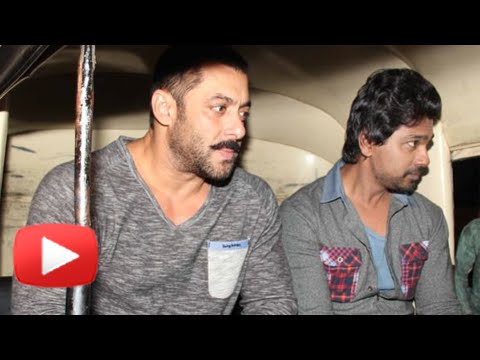 Salman Khan Takes An Auto Rickshaw Ride Home