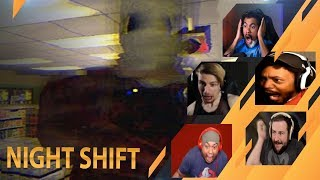 Gamers Reactions to the ENDING (Jumpscare) | Night Shift