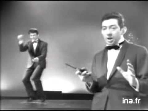 Yé yé - watch out the man on the left!! haha singing - Serge Gainsbourg dancing - Pierre Cassel.