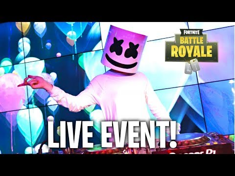 *NEW* MARSHMELLO FORTNITE EVENT! (LIVE)